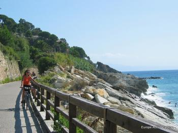 Cycling from Nice to Genoa