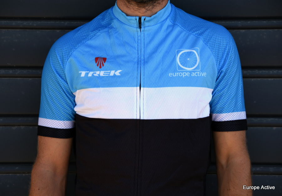 Bicycle jersey Europe