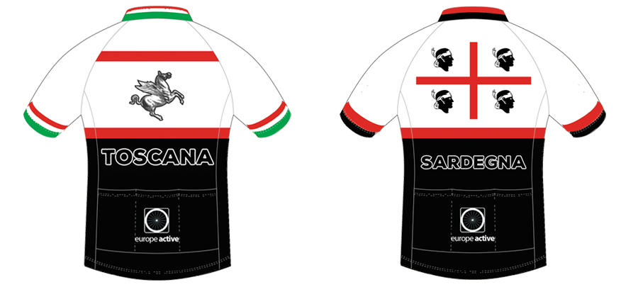 Personalised cycling jersey