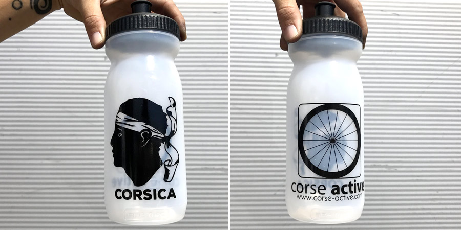 water bottles Corse